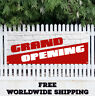 Banner Vinyl Grand Opening Advertising Sign Flag Many Sizes Now Open Store Shop