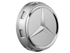 4 ori Mercedes Benz Rad Naben Abdeckung Kappen Deckel AMG Stern chromeshadow NEU