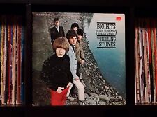 The Rolling Stones ♫ Big Hits High Tide and Green Grass ♫ 1966 Orig. LP w/Book