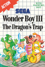 ## SEGA Master System - Wonder Boy 3: The Dragon´s Trap - TOP / MS Spiel ##