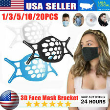 3D Face Mask Brackets Mouth Separate Inner Stand Soft Silicone Holder Frame 2021