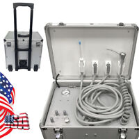Portable Dental Turbine Unit Air Compressor Suction System Treatment Equipment