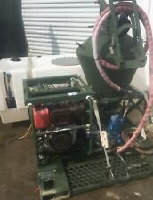 Military Yanmar Diesel Electric Start Skid Mounted Sprayer &Tank Mobility Denial