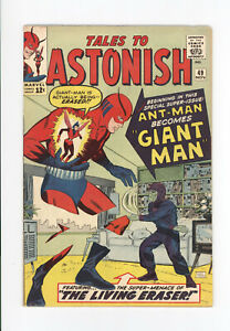 TALES TO ASTONISH #49 - KEY Issue: ANT-MAN Becomes GIANT-MAN - WASP - NIICE