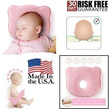 Newborn Baby Pillow Head Shaping Pillow Prevent Flat Head Memory Foam 0-12 Month