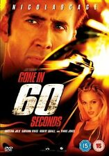 GONE IN 60 SECONDS - SPECIAL EDITION - DVD - REGION 2 UK