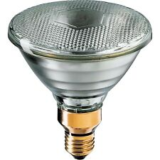 Philips CLEAR PAR38 GLOBE 80W Screw Fitting, Pressed-Glass Reflector Lamp