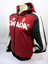 Hudson Bay Co. 2010 Olympic Women's M  Red Soft Shell Fleece Jacket Hoodie