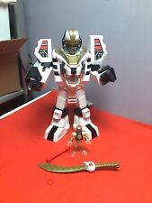 Imaginext Power Rangers White Ranger & Warrior Mode Tigerzord