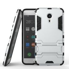Hybrid Hard Armor Stand Shockproof Dual Protective Cover Case For MEIZU MX6 Pro6