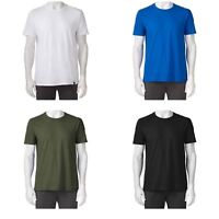 Gold Toe Crewneck Tee T Shirt Cotton Layering Short Sleeve Solid S M L XL