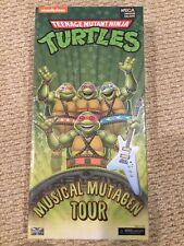 Neca TMNT Musical Mutagen Tour SDCC Exclusive Brand New Ninja Turtles