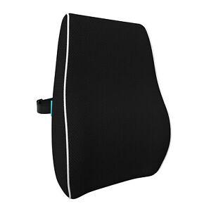 bonmedico Ergonomisches Rücken-Kissen, Lendenkissen für Bürostuhl, Stuhl & Auto