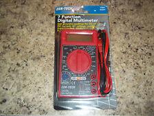 Digital LCD Multimeter AC/DC Voltmeter Volt Resistance OHM Curent Tester Meter