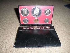 UNITED STATES 1977 S PROOF SET              6 COIN SET