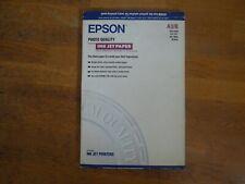 papier couché qualité photo A3+ EPSON 83 feuilles