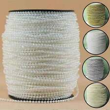 3mm Pearl Garland String Acrylic Beads Plastic Garlands Wedding Table Decoration