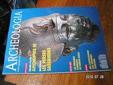µ?. Revue Archeologia n°288 Sybaris / Sassanides Amenophis III / Tunisie