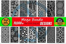 Mega Bundle 10.000+ DXF of PLASMA Laser ROUTER Cut | CNC Vector DXF-Ai- CDR-PDF