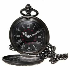 Top Sale Retro Vintage Antique Quartz Chain Necklace Pendant Pocket Watch Gift