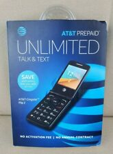 At&T Cingular Prepaid Flip 2 Cell Phone, 4Gb, Gray Sealed