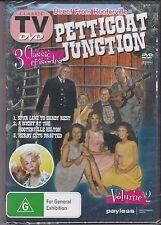 PETTICOAT JUNCTION VOL 2 - DVD - 3 CLASSIC EPISODES NEW
