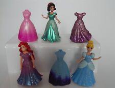 Polly Pocket Disney Magiclip dolls - Cinderella-Ariel-Snow White - 6 dresses