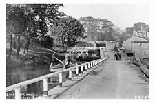 pt4115 - Apperley Bridge ,  Lock on Canal , Yorkshire - photo 6x4