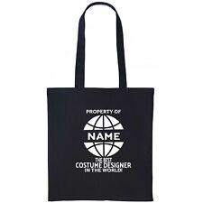 Custume Designer  Personalised Tote Bag Gift Birthday Christmas Name  Add
