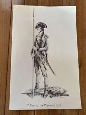 revolutionary war 3Rd New Jersey Regiment Poster Print 1776 Copeland militaria