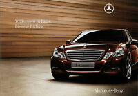 Mercedes E-Klasse Prospekt 2008 7.11.08 Autoprospekt 24 S. brochure prospectus