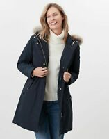 Joules Womens Hartingdale 3 In 1 Parka - Navy