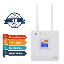 Unlocked 4G LTE Wireless Router Mobile WIFI Hotspot Dual Band Modem Sim Card Hot
