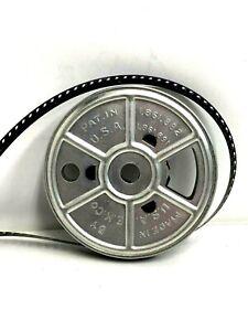 """Rare Silver 3"""" Eastman Kodak Metal 8mm Film Reel"""