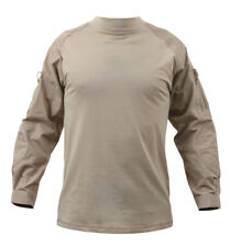 combat shirt desert sand tactical style various sizes rothco 90030