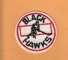 OLD 1950s CHICAGO BLACK HAWKS RARE 2 inch PATCH UNUSED STOCK BLACKHAWKS