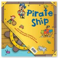 Miles Kelly Convertible Pirate Ship 3 in 1 Book Playmat and Toy Children PB NEW