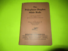 1924 KEUFFEL AND ESSER CO. THE POLYPHASE DUPLEX SLIDE RULE