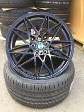 19 Zoll MAM B2 5x120 schwarz für BMW M Performance Paket F10 F11 F30 M4 CLS M3