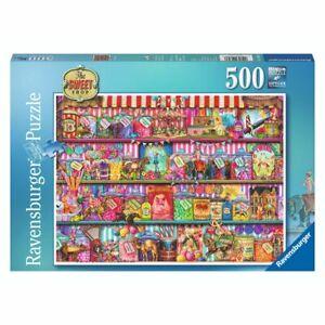 Ravensburger Puzzle 500 Piece The Sweet Shop