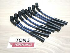 MOROSO RACE 8.65mm LS1 BLUE Spark Plug Wire Set Corvette Camaro Z28 Firebird GTO