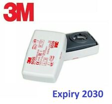 3M 6035 P3 Particulate Filters One Pair Factory Sealed Expiry 2030 GENUINE NEW
