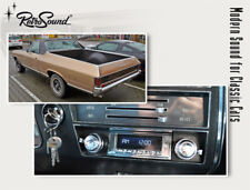 For Chevrolet El Camino 1968-72 Vintage Car Radio DAB+ Fm USB Bluetooth Aux