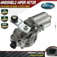 A-Premium Windshield Wiper Motor Front for Hyundai Lexus Mazda Scion Subaru Toyota IS250 LX570 xB Sienna Tacoma 2005-2018