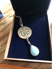 SCOTT MIKOLAY DESIRES BRASS & TURQUOISE NECKLACE