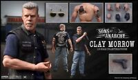 PCS - SONS OF ANARCHY - CLAY MORROW - RON PERLMAN 1/6 SCALE FIGUR  NEU/ OVP