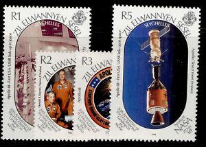 SEYCHELLES - Zil eloigne sesel QEII SG193-196, 1989 moon set, NH MINT. Cat £10.