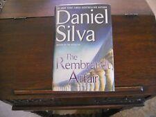 THE REMBRANDT AFFAIR #10, Daniel Silva, SIGNED 1st/1st print 2010, HCDJ