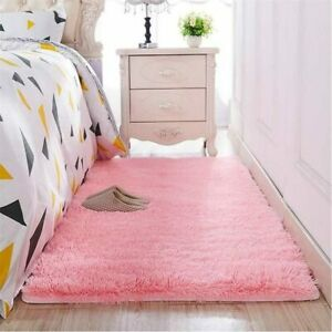 Thickened Washed Hair Non-slip Carpet Living Room Bedroom Bedside Mat Yoga Rug