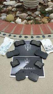 Maserati Quattroporte FRONT+REAR O.E. Brake Pads.. Full Set! 2005-2006!!
